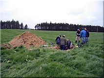 T0117 : A gathering of soil scientists, Johnstown Castle Farm by Rodney Burton