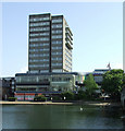TL0549 : Conference Centre and Park Inn Hotel by Thomas Nugent