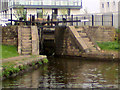 SJ8598 : Ashton Canal, Lock 3 by David Dixon