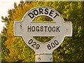 ST9506 : Hogstock: detail of finger-post finial by Chris Downer