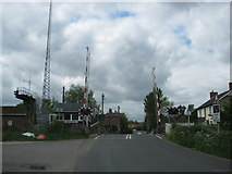 ST3404 : Level crossing at Chard Junction by Sarah Charlesworth