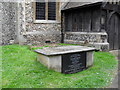 TQ4361 : Tomb in the churchyard at St Mary, Downe (1) by Basher Eyre
