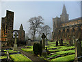 NT0987 : Dunfermline abbey by MARC CURRAN