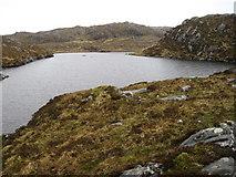 NM5966 : Lochan east of Lochan Coire Mhaim by Chris Wimbush