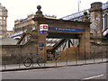 NT2573 : Waverley Station Market Street Entrance by David Dixon