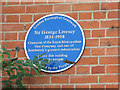 Photo of George Livesey blue plaque