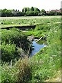 SP0993 : Recreation ground and stream by Michael Westley