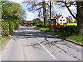 TM2565 : Chapel Road, Saxtead Little Green &amp; Marlborough Heath Postbox by Adrian Cable