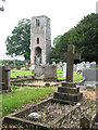 TG1406 : The ruined tower of St Mary's church, Great Melton by Evelyn Simak