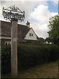 TQ5541 : Speldhurst Village Sign by David Anstiss
