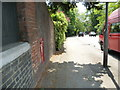 TQ4369 : Postbox on Summer Hill by Basher Eyre