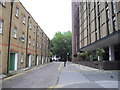 TQ2379 : Kingham Close, London by PAUL FARMER