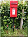 TM2863 : Brook Lane Postbox by Adrian Cable