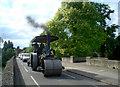 SU6189 : Steam Roller on Wallingford Bridge : Week 24