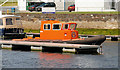C8334 : Rescue boat, River Bann, Coleraine by Albert Bridge