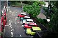 TQ3266 : Croydon:  Minis of many colours : Week 24