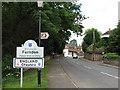SJ4154 : Crossing into England, Farndon by Alex McGregor
