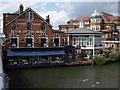 SU9677 : House on the Bridge, Eton : Week 24