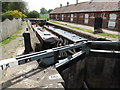 SJ5758 : Bunbury Locks on the Shropshire Union Canal by Andy Parrett