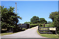 TL6762 : Entrance to Longholes Stud by Bob Jones