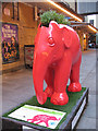 TQ2980 : Tommy Hilfiger's Red Elephant by Stephen Craven