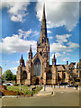 SJ8298 : The Cathedral Church of St John the Evangelist, Salford by David Dixon