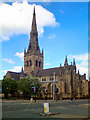 SJ8298 : Salford Cathedral by David Dixon