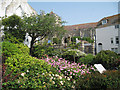 TQ8209 : Garden on High Street and Swan Terrace by Oast House Archive