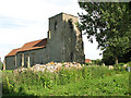 TF8127 : St Peter's church in West Rudham by Evelyn Simak