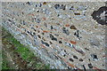 TM3896 : Roman Tiles in the Wall by Ashley Dace