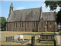 SJ7461 : St Peter's church, Elworth - south side by Stephen Craven