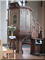 TQ3772 : St Dunstan's: pulpit by Stephen Craven