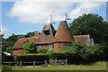 TQ7039 : Nevergood Oast, Brick Kiln Lane, Horsmonden, Kent by Oast House Archive