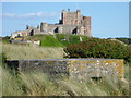 NU1735 : Defence of The Realm at Bamburgh, Northumberland by Richard West
