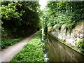 SJ9003 : Marsh Lane 'Narrows' on the Staffs & Worcs canal by Richard Law