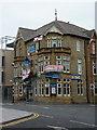 SD3136 : The Blue Room, Church Street, Blackpool by Alexander P Kapp