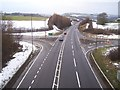 SK3098 : The A616 near Wortley by Martin Speck