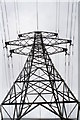 SW7439 : Electricity pylon at Tresamble by Rod Allday