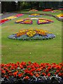 Dist:0.3km<br/>Opened in July 1910, around the impressive Felling Town Hall which was built in 1902. Tyne and Wear HER(5253): Felling Park http://www.twsitelines.info  There are spectacular displays of bedding plants on the slope which rises from Sunderland Road to Holly Hill. There is another view here [[1966223]]