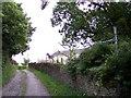 SD5103 : Public Footpath sign near Higher Barn by Raymond Knapman