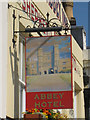 TQ7415 : Abbey Hotel sign by Oast House Archive