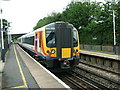 SU4416 : Train leaving Southampton Airport Parkway Station by Rob Candlish