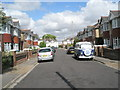 SU6105 : VW Camper van in Sunningdale Road by Basher Eyre