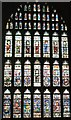 TR1557 : Canterbury Cathedral - stained glass window by Paul Gillett