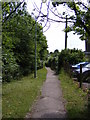 TM3877 : Footpath to Station Road by Adrian Cable