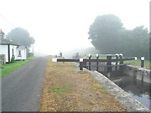 N1066 : Lock No. 42 on the Royal Canal in Meelick, Co. Longford by JP