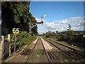NY7864 : Railway at Bardon Mill : Week 31