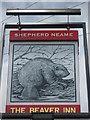 TR0041 : The Beaver Pub Sign by David Anstiss