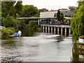 SJ4812 : River Severn, Shrewsbury by David Dixon