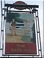 TR2265 : The Gate Inn Pub Sign by David Anstiss